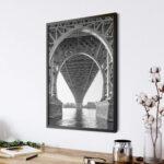 Williamsburg Bridge NY Poster photography Noanahiko 0154