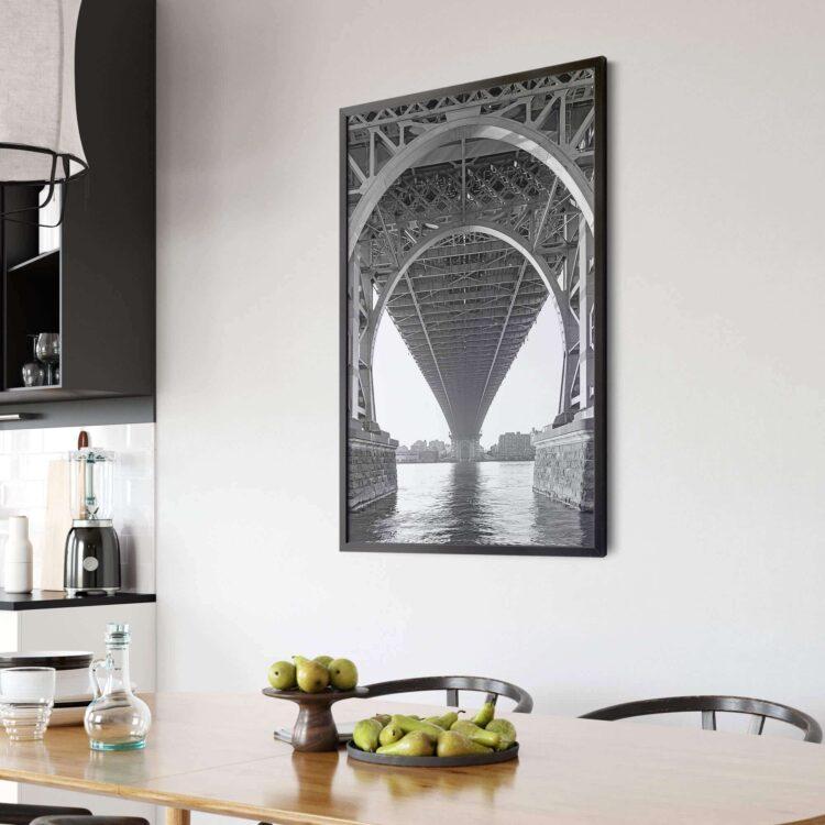 Williamsburg Bridge NY poster print Noanahiko 0154 01