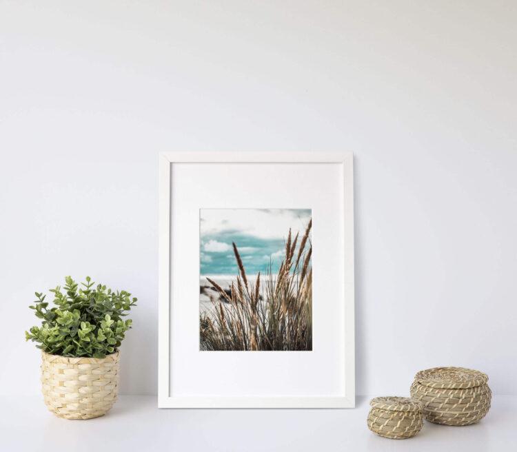on the beach Noanahiko Art Print 0141
