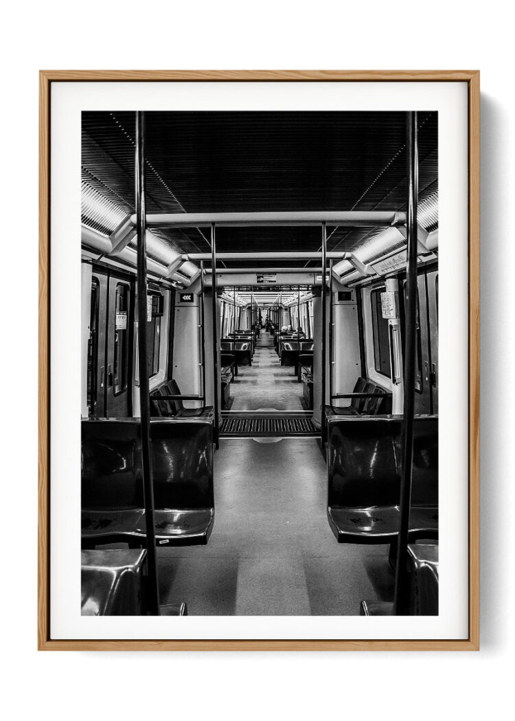 An Empty Subway Poster