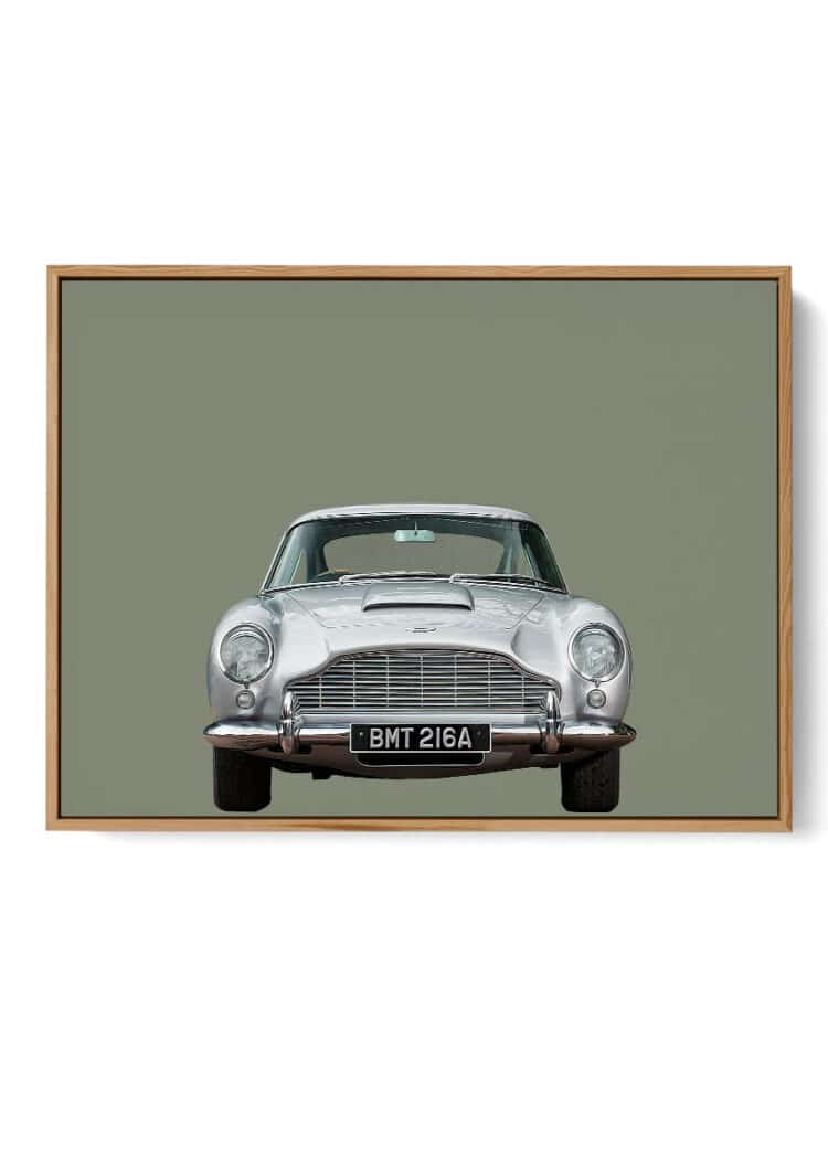 Aston Martin DB5 Car Poster
