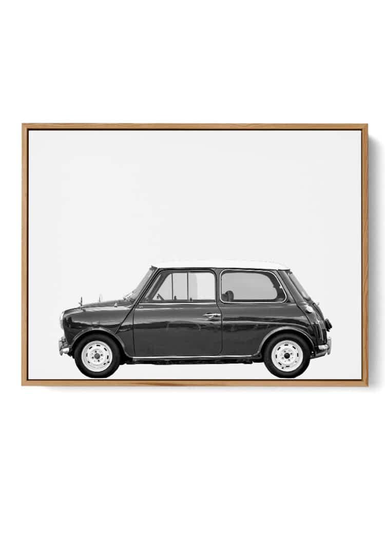 Austin Mini Classic Car art print