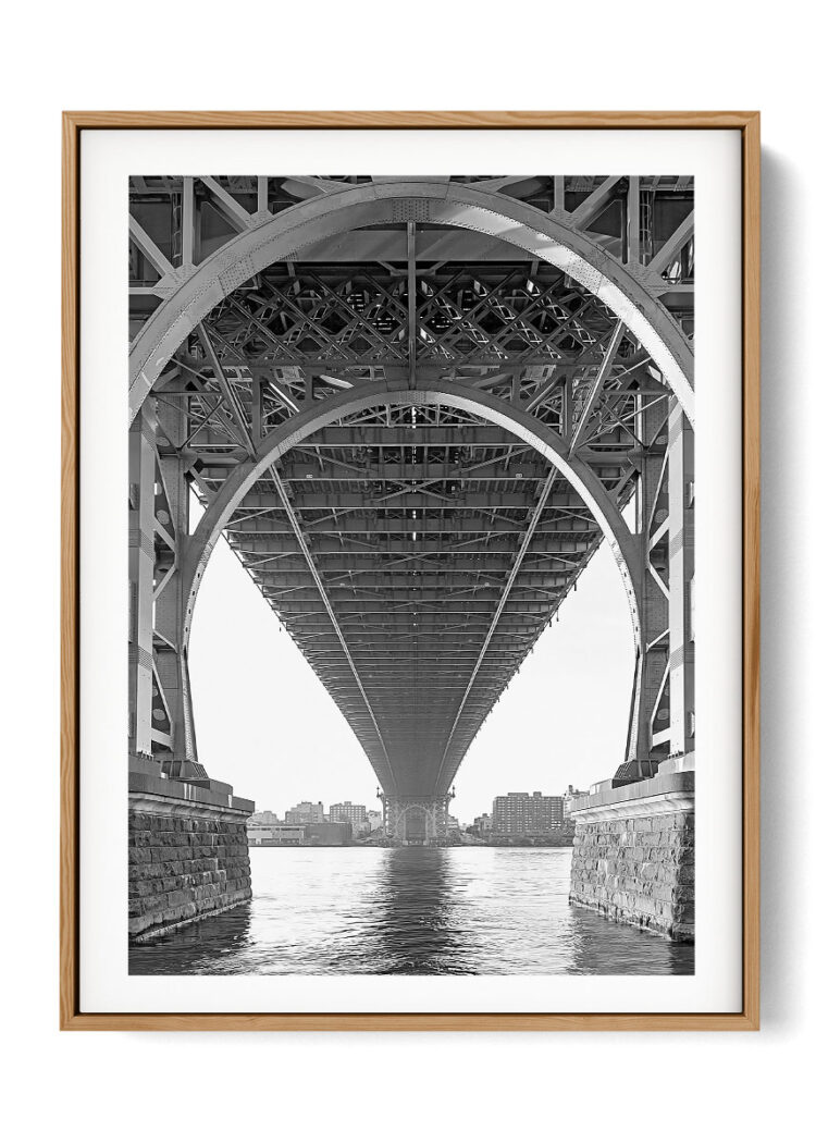 Brooklyn Williamsburg Bridge New York Poster