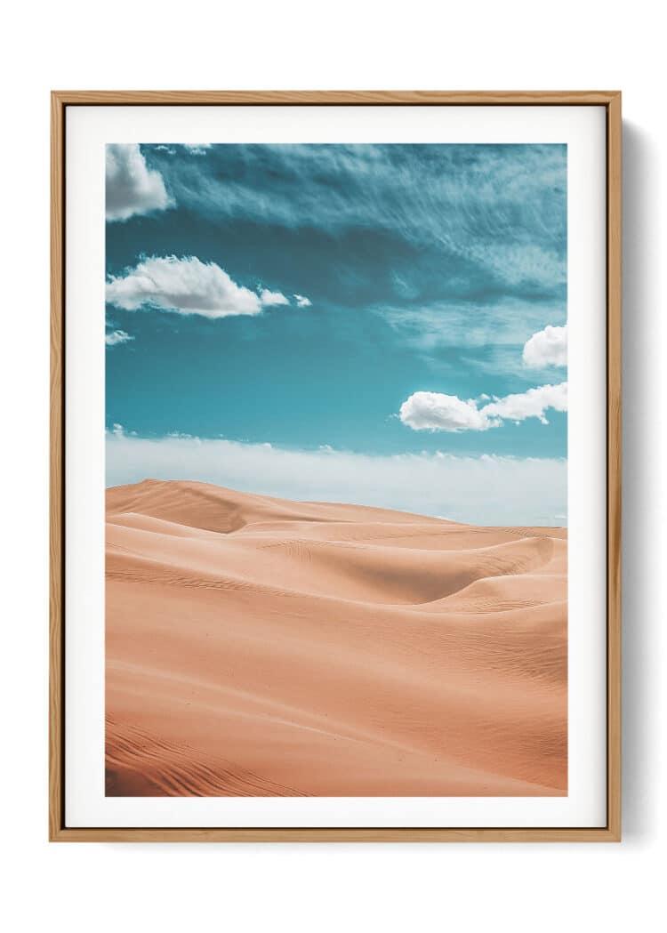 California Desert Glamis Dunes Poster