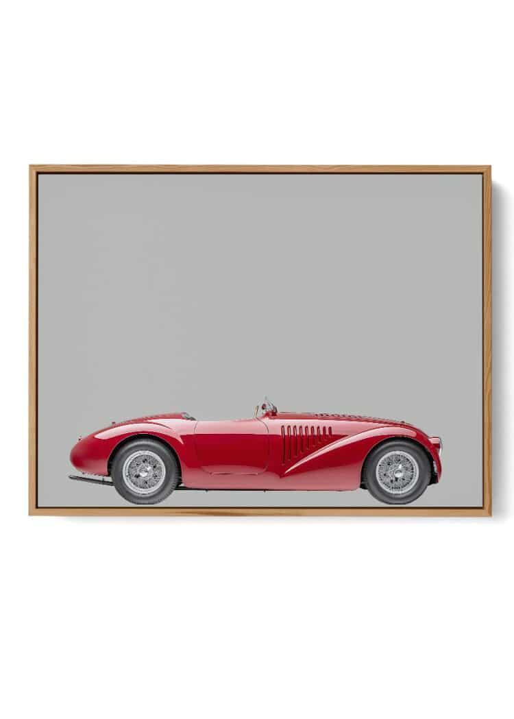 Ferrari 125 Sport 1947 Poster