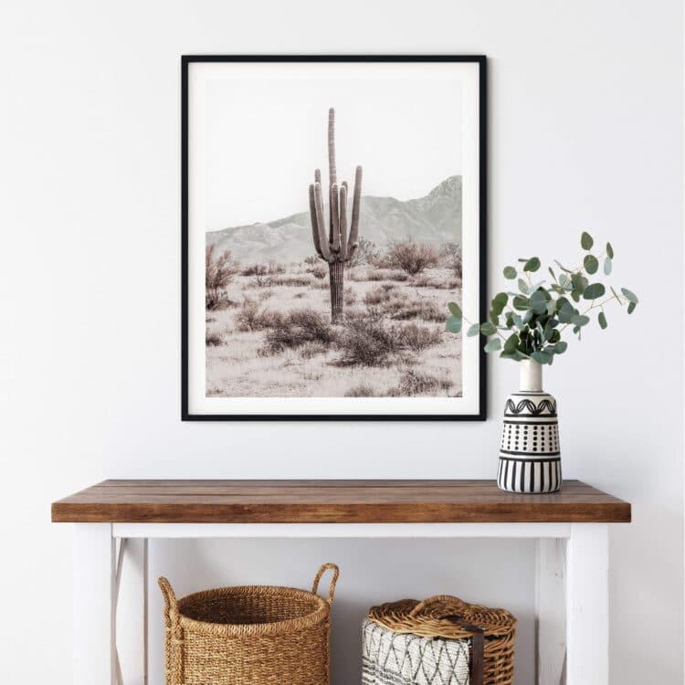 Grand Canyon Cactus L Noanahiko Art Print 0196 01