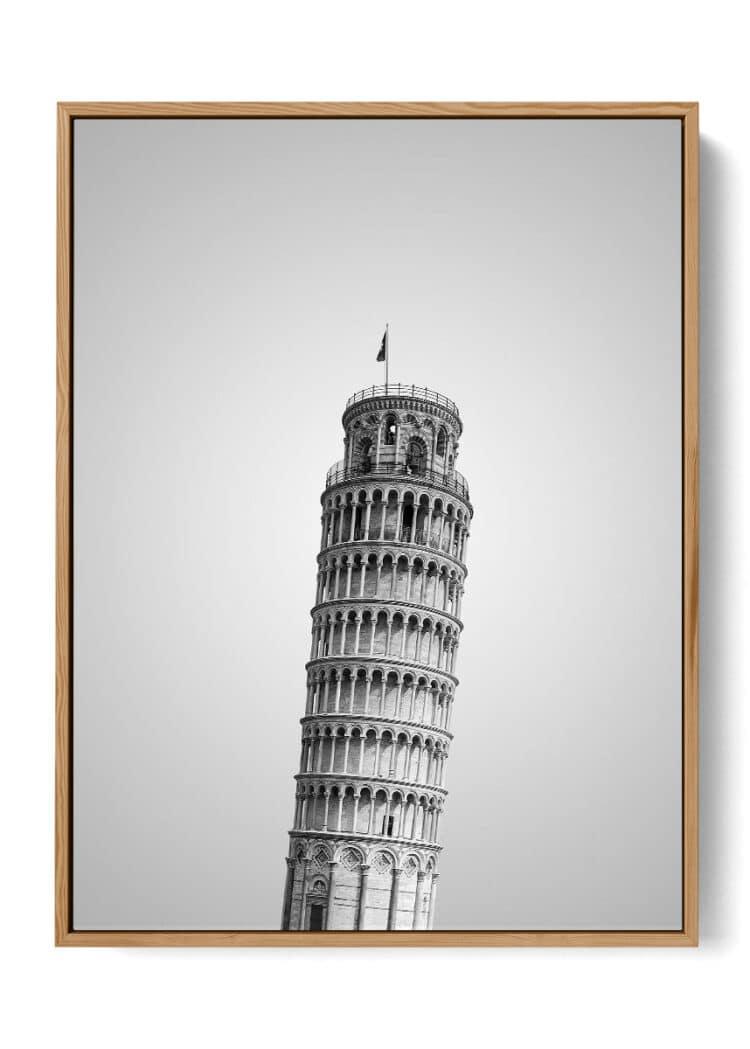 Pisa Tower Art Print Poster