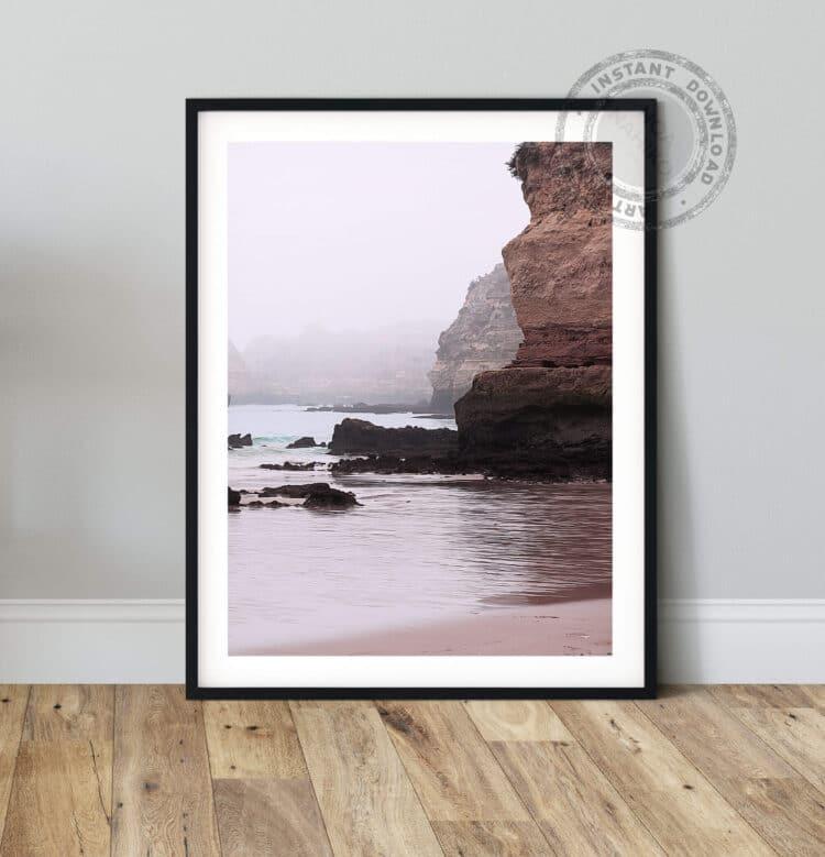 Rocks ocean Poster photography Noanahiko 0140