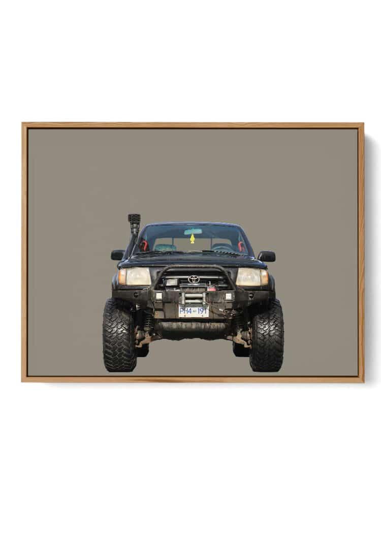 Toyota Tacoma 1998 Off Road Print