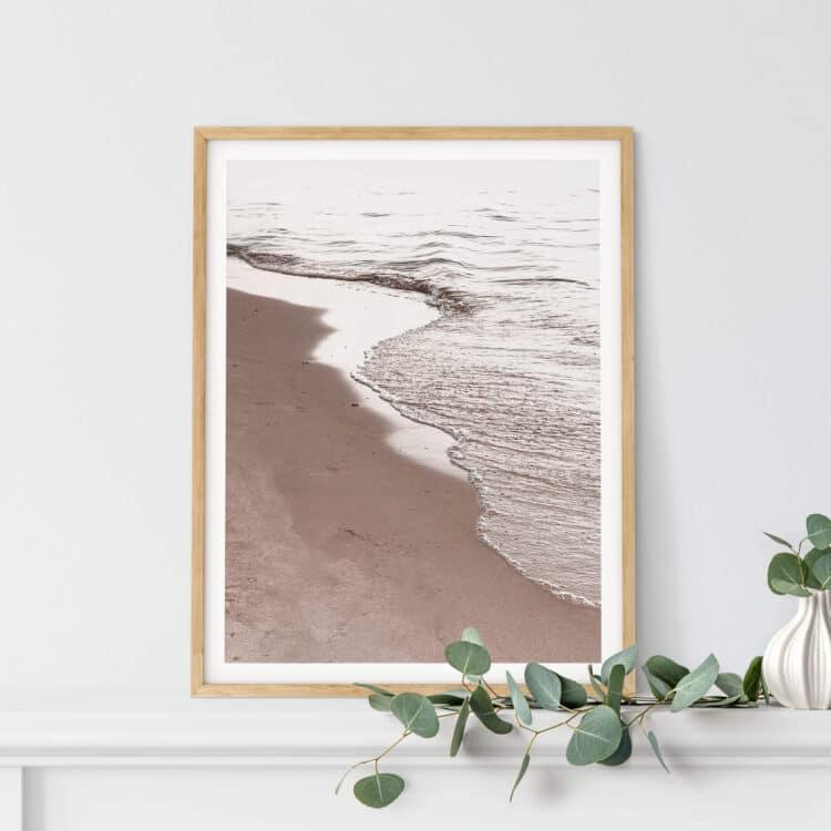 View Of Beach Noanahiko Art Print 0194