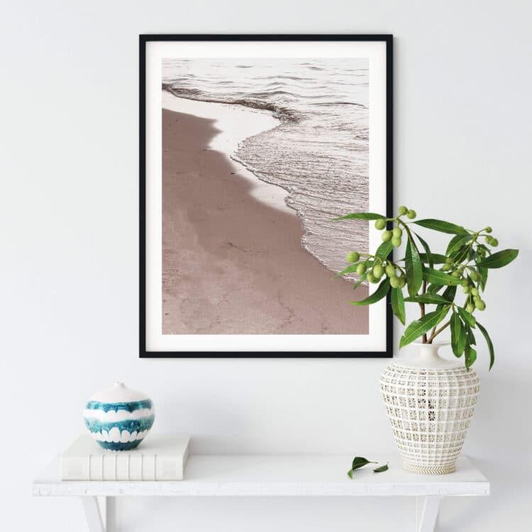 View Of Beach Noanahiko Photo Print 0194