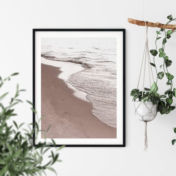 View Of Beach Noanahiko Printable Wall Art 0194