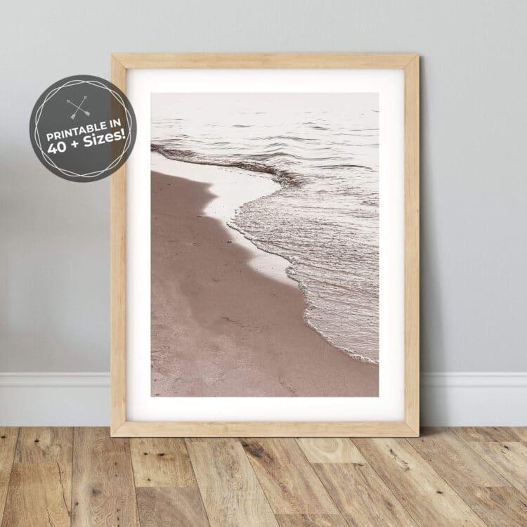 View Of Beach Poster Noanahiko 0194