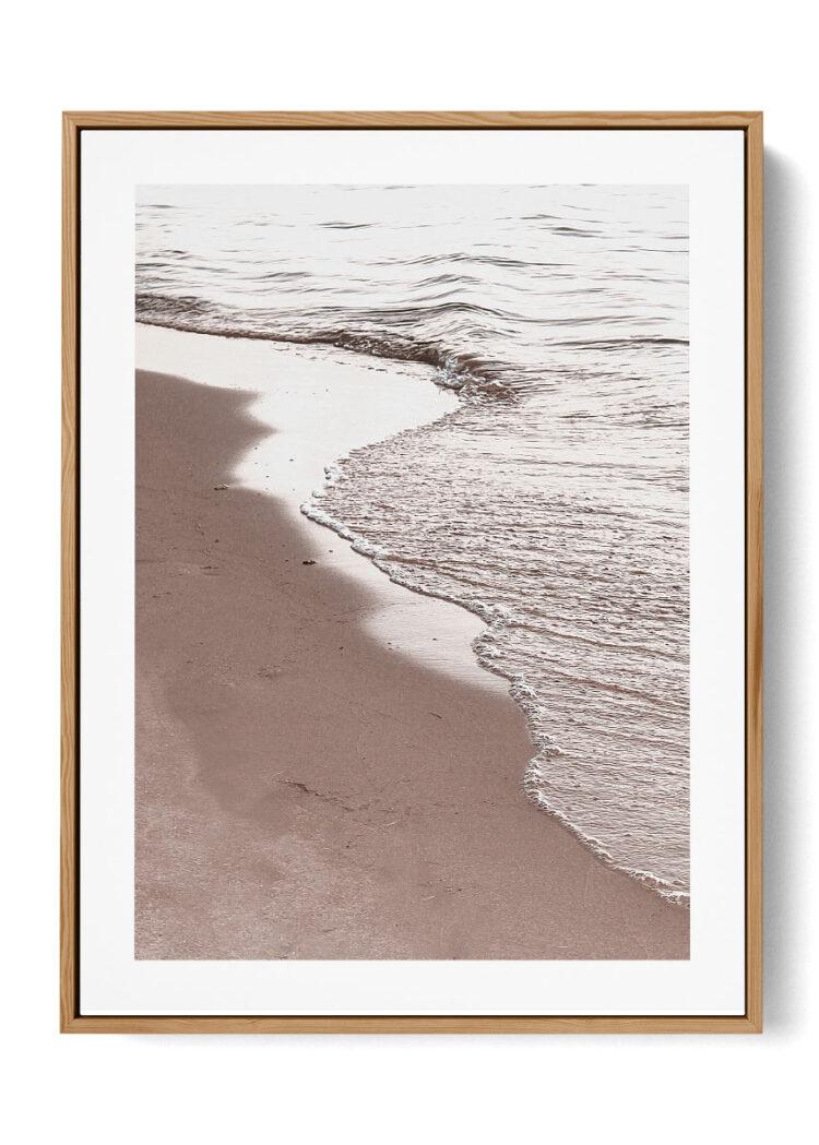 View Of Beach Poster Noanahiko Print W 0194