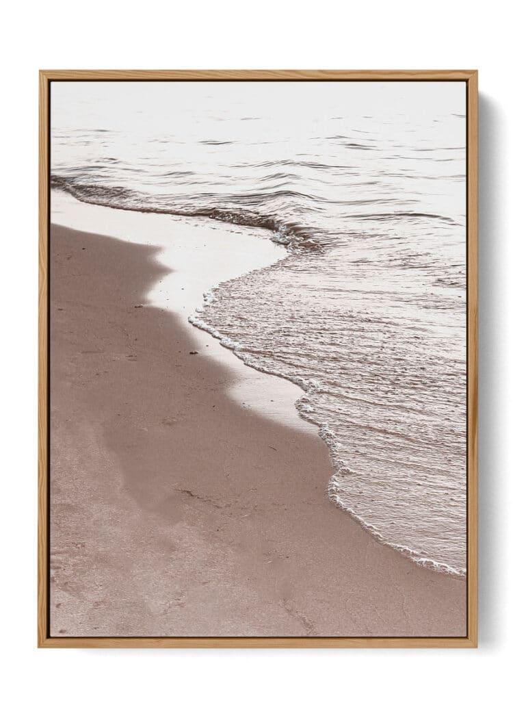 View Of Beach Poster Noanahiko W 0194
