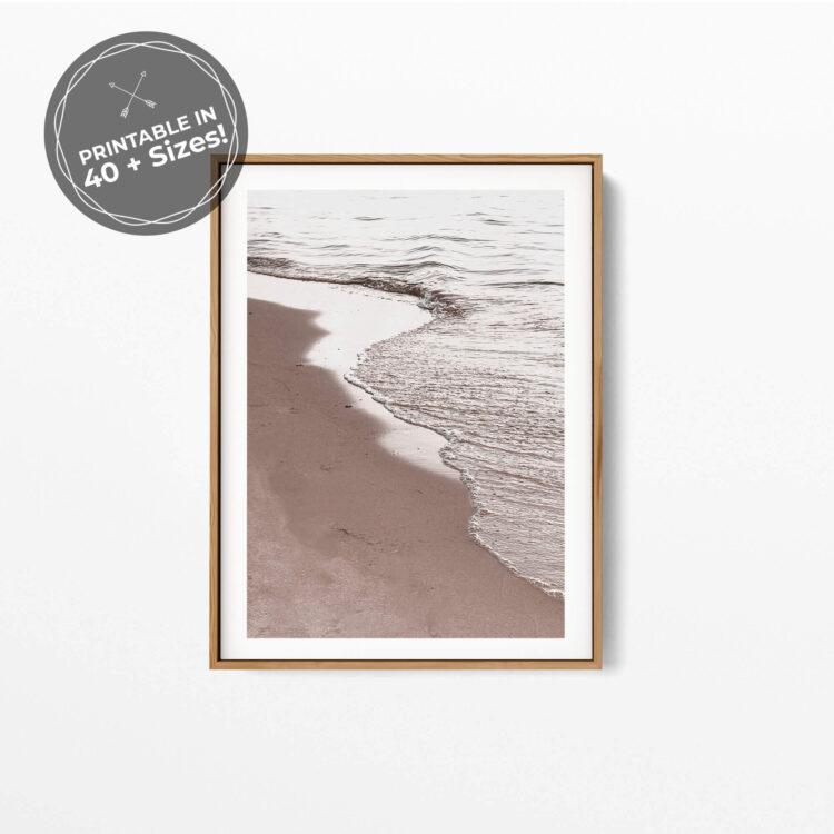 View Of Beach Poster photography Noanahiko 0194