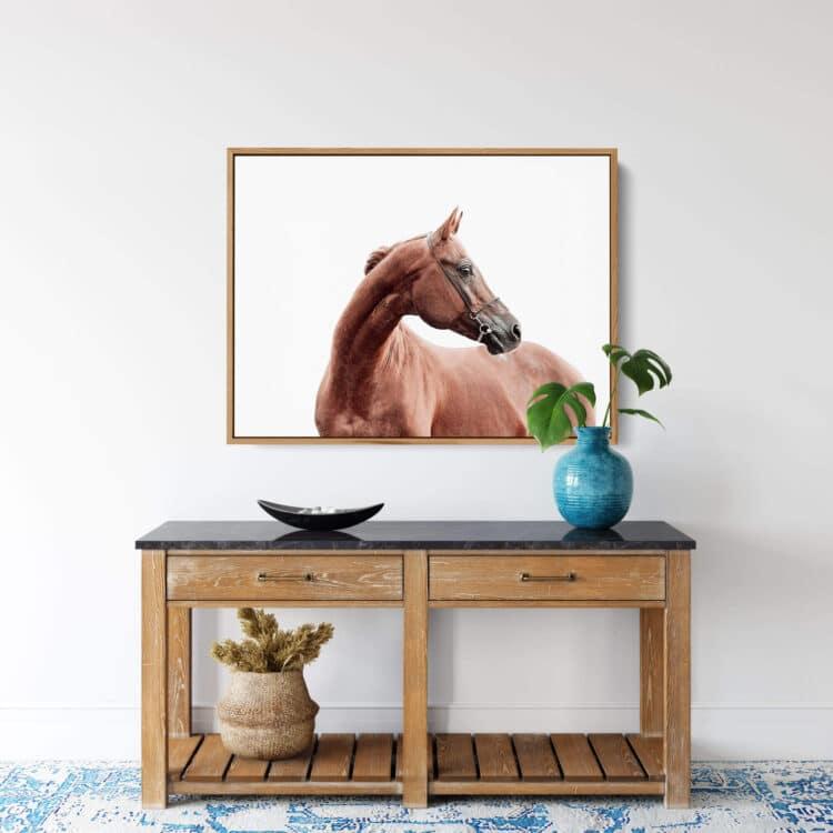 Horse art print Noanahiko Art Print 0191