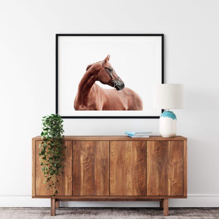 Horse art print Noanahiko Printable 0191