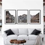 Mountain Lake Set Print