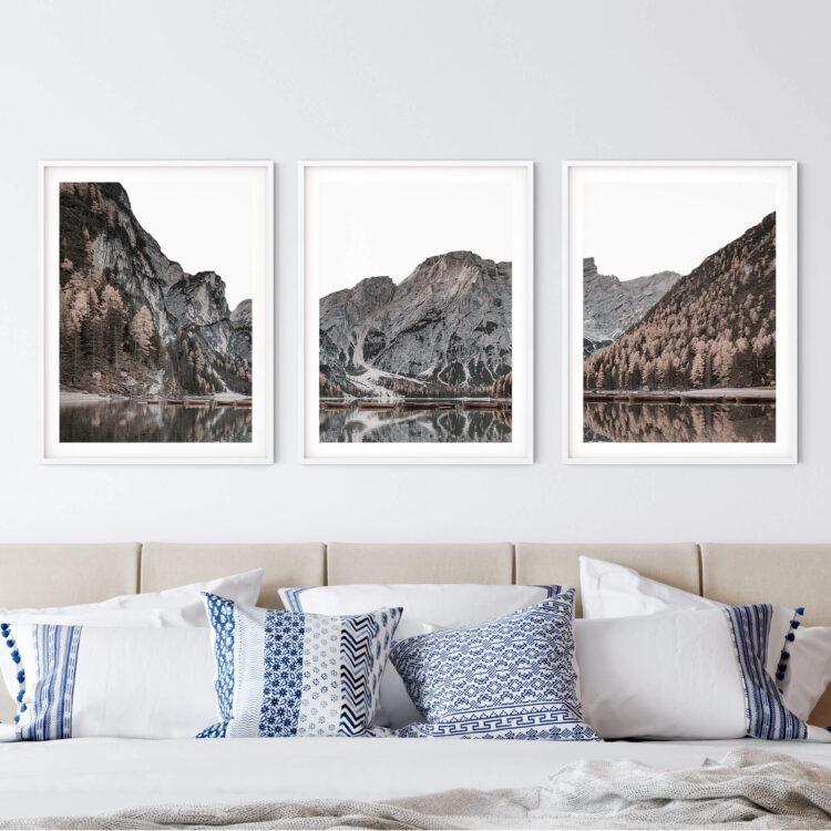 Mountain Lake Set Print Noanahiko Photo Print 0197