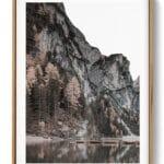 Mountain Lake Set Print noanahiko