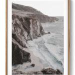 Ocean Cliff Noanahiko Art Print W 0198