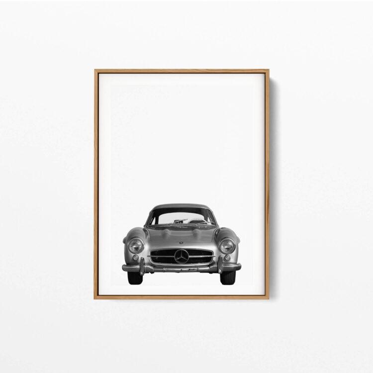 Set 3 Mercedes Benz car Noanahiko Art Print 0146