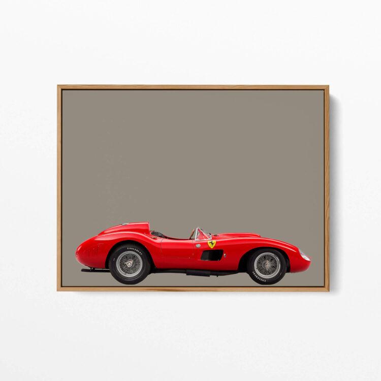 Sportcar Ferrari 857 S Noanahiko Art Print 0160 02