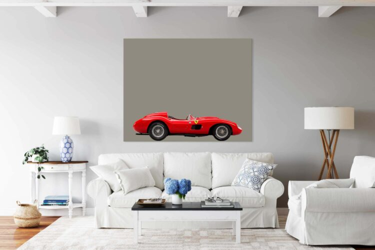 Sportcar Ferrari 857 S Noanahiko Printable Wall Art 0160 02