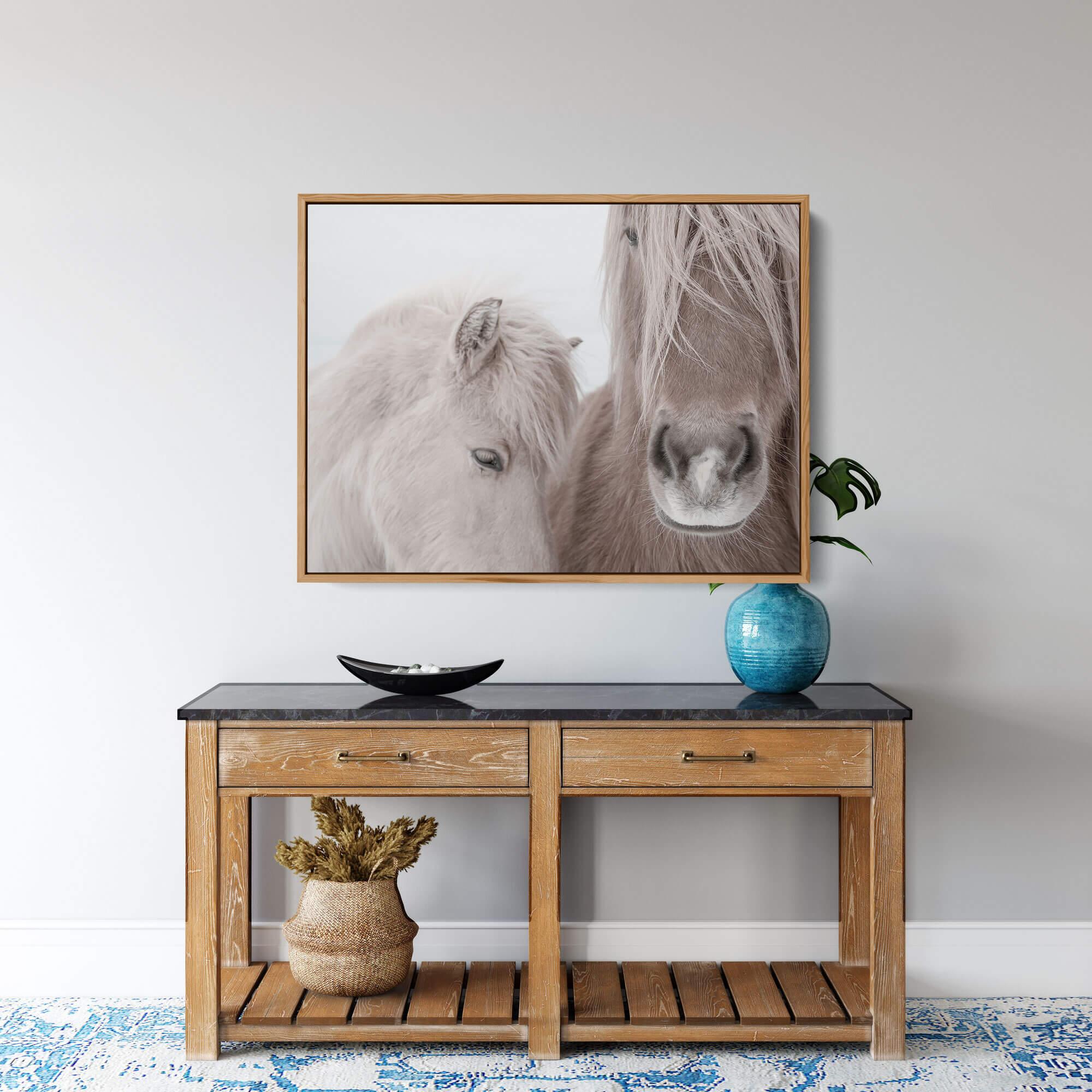 Two Horses Noanahiko Printable 0144
