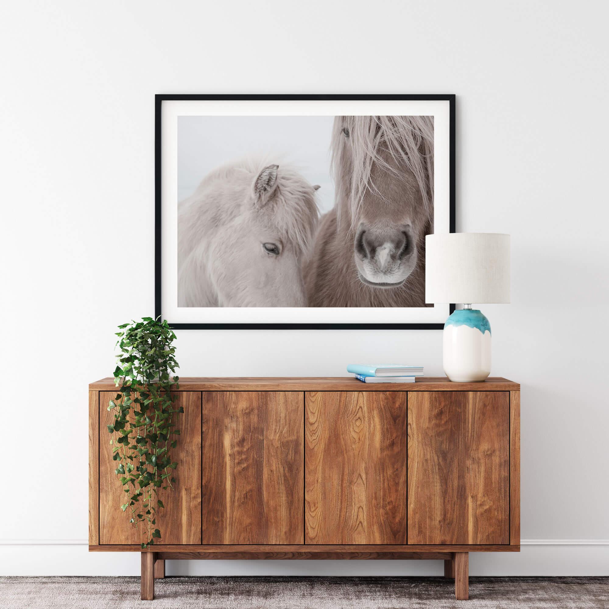 Two Horses Noanahiko Printable Wall Art 0144