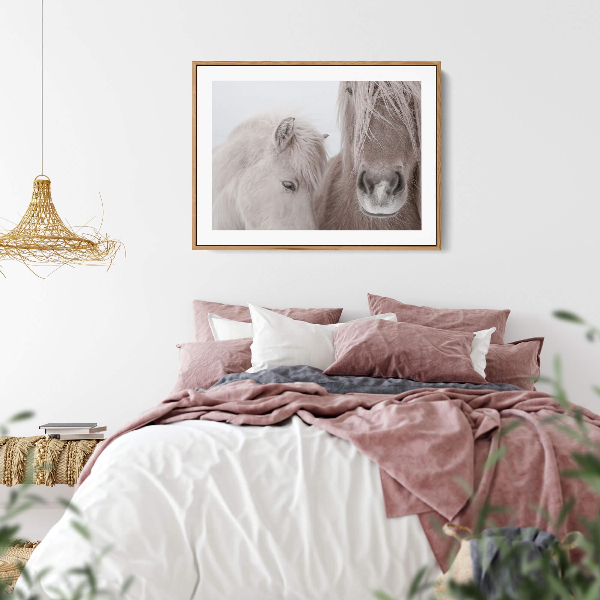 Two Horses art print 0144